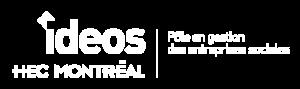 Logo - IDEOS HEC Montréal Pôle en gestion des entreprises sociales