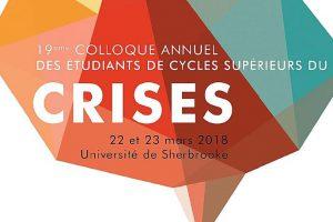 Colloque annuel des étudiants de cycles supérieur du crises